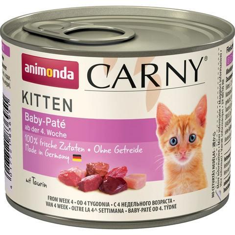 Animonda Carny Kitten - Baby Pate паштет для котят