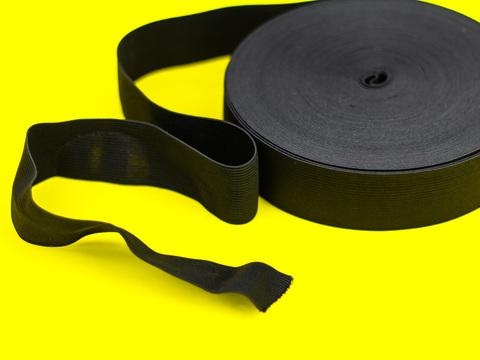 Еластична стрічка, Let's make, ширина 40 мм., чорна