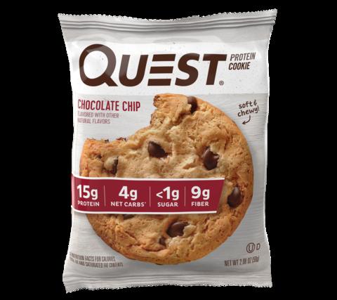 Протеиновое печенье Quest Nutition для кето диеты, без углевод, без сахара, без глютена
