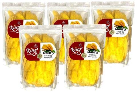 Натуральное сушеное манго King, 5000 грамм