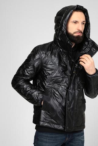 Мужская черная куртка W-CRAWFORD-SHINY Diesel