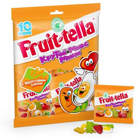 Мармелад жевательный Fruittella Крутой Микс Мини, 10шт по 20г 8253944