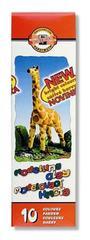 Пластилин GIRAFFE, 10цв, 230г, картон.упак.