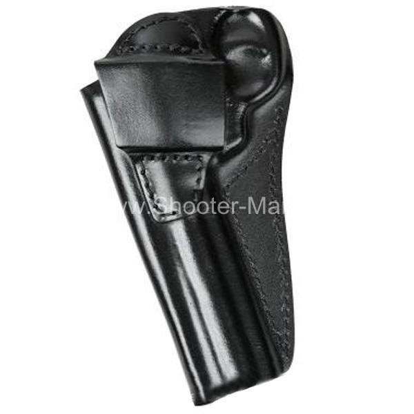 Кобура кожаная для револьвера Гроза Р-06 ( модель № 7 ) Стич Профи