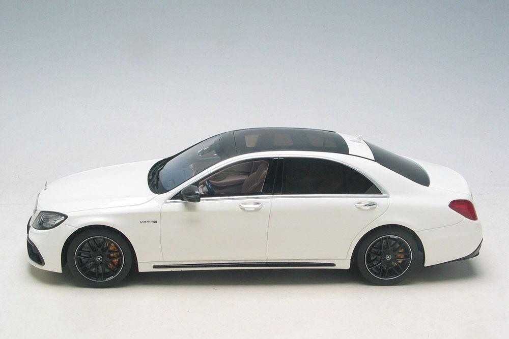Коллекционная модель MERCEDES-BENZ W222 S63 AMG MOPF LONG 2018 WHITE