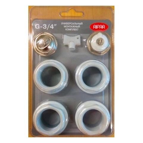 Rifar комплект 3/4' для подключения радиаторов серий Base и Alum (R.Ad.G34)
