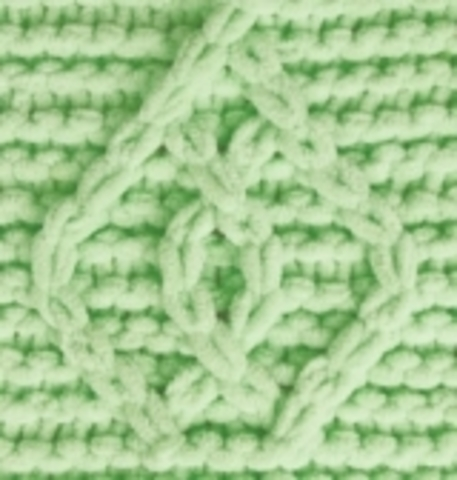Пряжа Puffy Fine Alize 516 пастельно-зеленый, фото