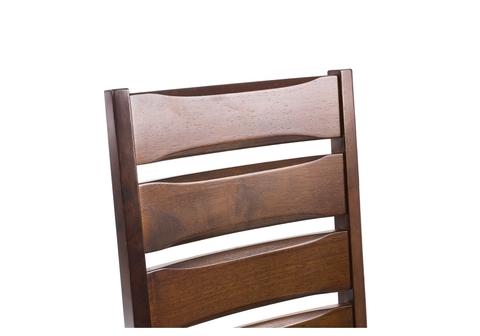 Стул деревянный кухонный, обеденный, для гостиной Vengen cappuccino 45*45*96 Cappuccino /Черный кожзам