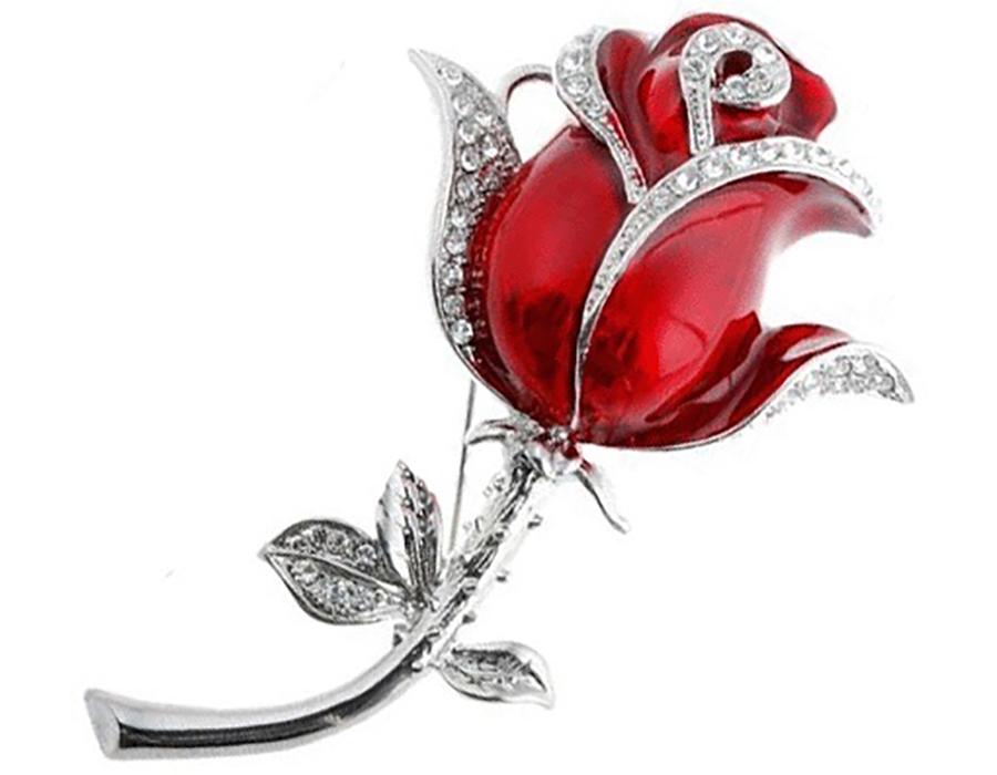 usb-флешка роза ювелирная оптом