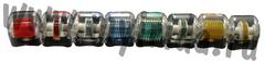 Сменная насадка к мезороллеру 540 титановых игл, синий цвет