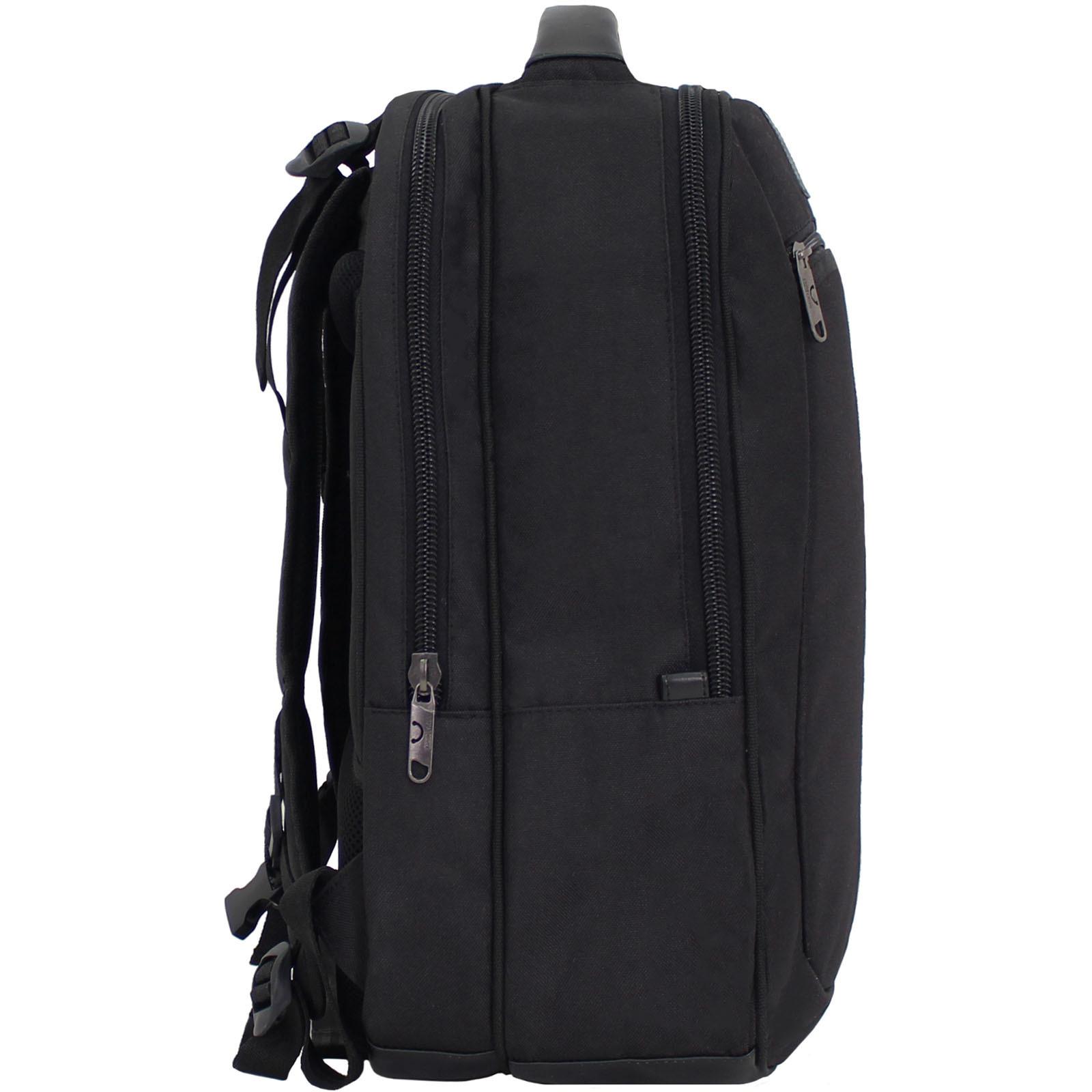 Рюкзак для ноутбука Bagland Рюкзак под ноутбук 536 22 л. Черный (0053666) фото 2