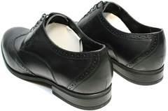 Мужские свадебные туфли дерби Ikos 1157-1 Classic Black.