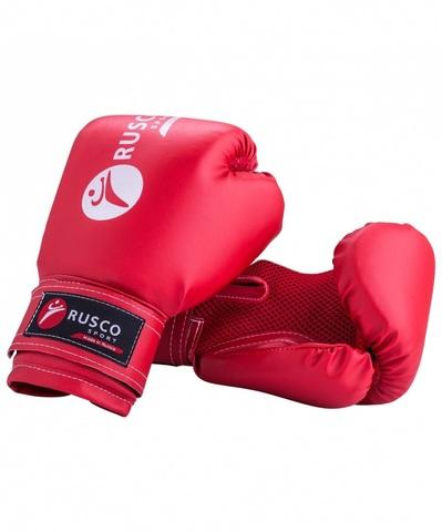 Перчатки боксерские Rusco, 8oz, к/з, красный (Сфит) (Перчатки боксерские Rusco, 8oz, кз, красный)