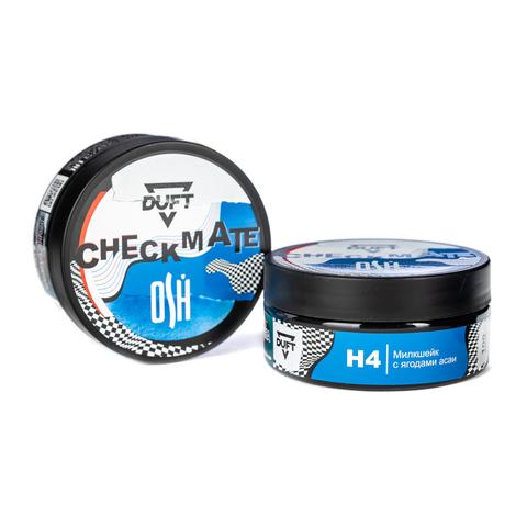 Табак Duft 100 г CheckMate H4 (Милкшейк с Ягодами Асаи)