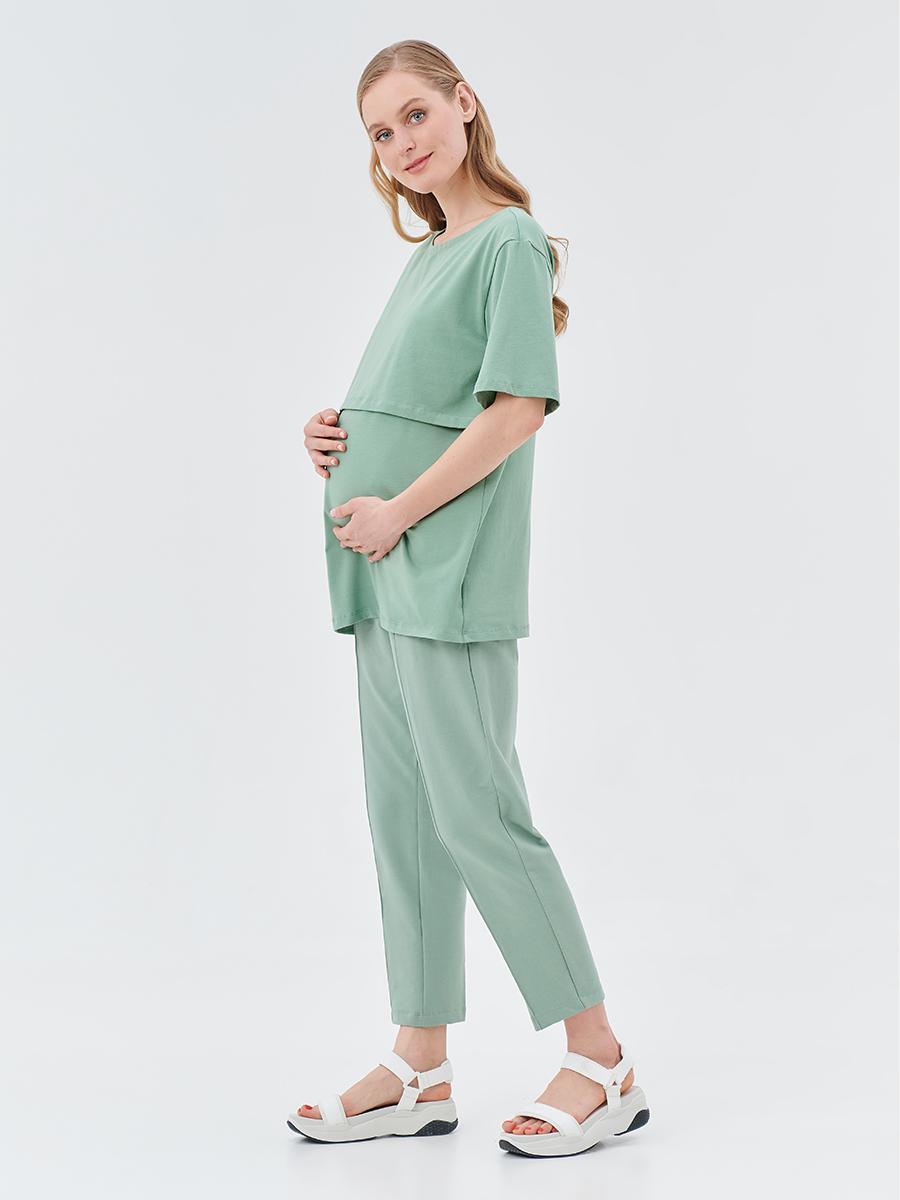 Брюки трикотажные для беременных - Фото 9