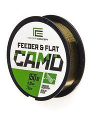 Леска монофильная Feeder Concept FEEDER&FLAT Camo 150м, 0.30мм