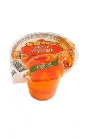 """Желе """"Аппетиссимо"""" с соком персика 150 г"""