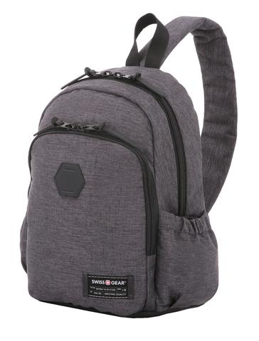 Рюкзак Swissgear  (SA2608424521) 13'' с одним плечевым ремнем cерый 25х14х35 см 12 л