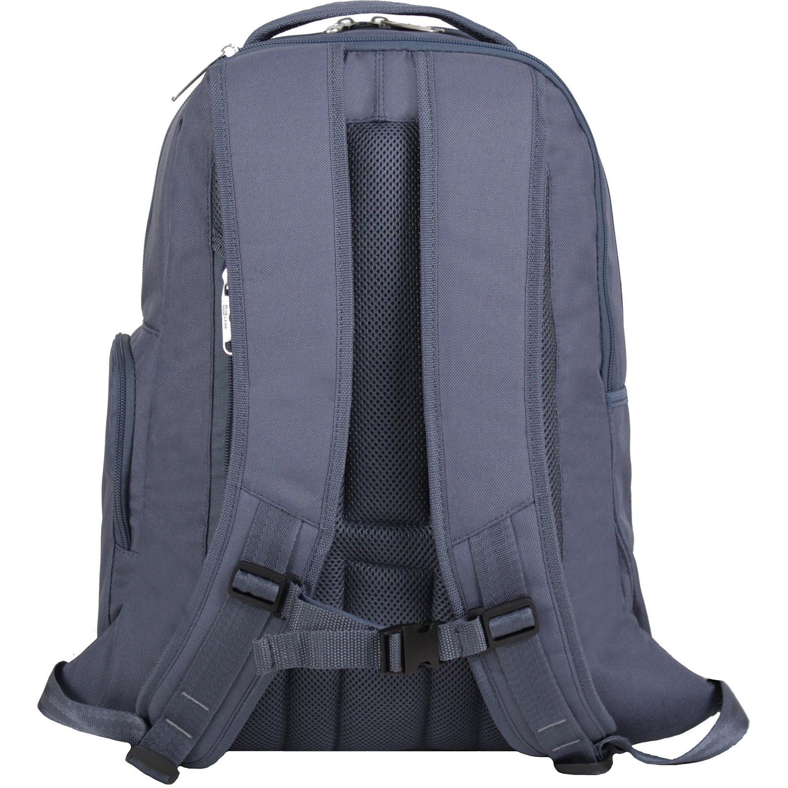 Рюкзак для ноутбука Bagland Техас 29 л. Темно серый (00532662)