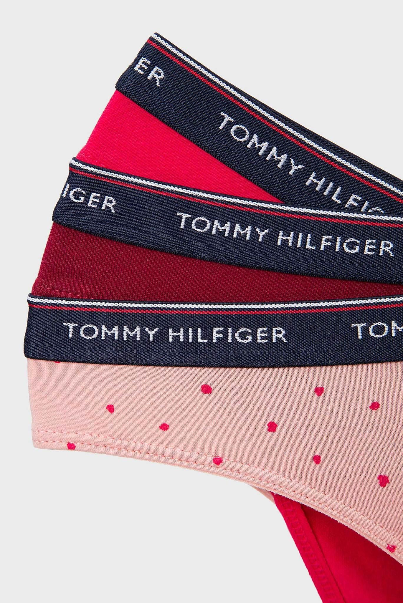 Женские хлопковые трусики BIKINI  (3 шт) Tommy Hilfiger