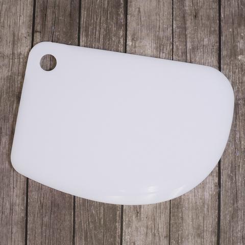 Шпатель кондитерский полукруглый 12*8,5 см, пластик