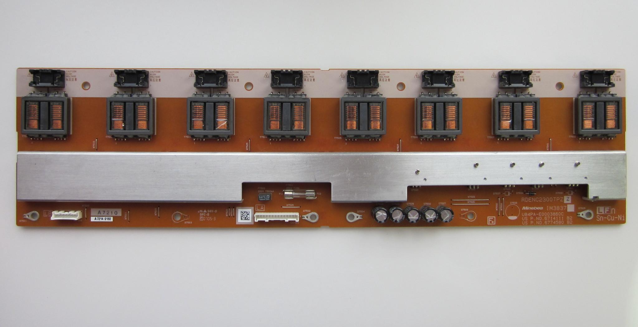 Инвертор RDENC2300TPZ, 8 ламп.