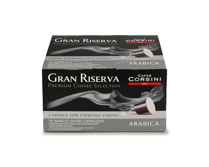 Кофе в капсулах Caffe Corsini Gran Riserva Arabica