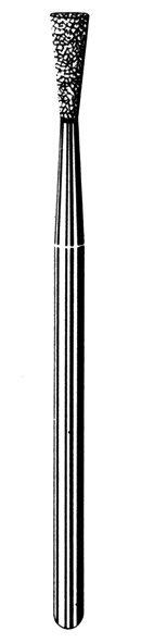 Лабораторные алмазные инструменты «SS WHITE» серия LAB 25/4030 Группа III. Средняя крошка.
