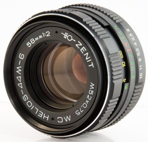 Объектив Гелиос 44М-6 58 mm f/ 2 MC