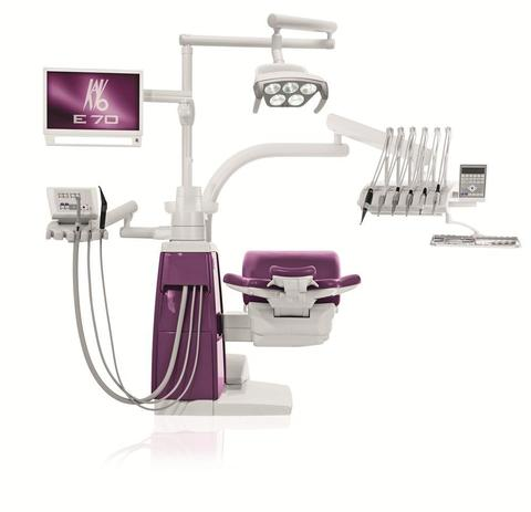 Estetica E70 VISION Swing стоматологическая установка с верхней подачей KaVo