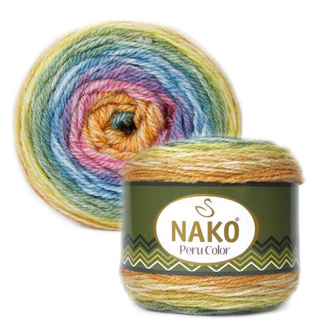 Peru Color (25% Альпака,25% Шерсть,50% Aкрил,100гр/310м)