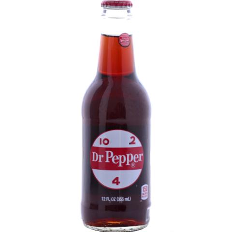 Dr Pepper Classic Доктор Пеппер классический 0,355 л в стекле