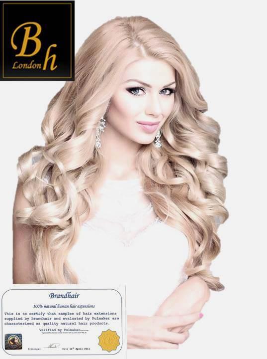 Волнистые волосы для ленточного наращивания цвет #60-блонд-40 шт-63 CM