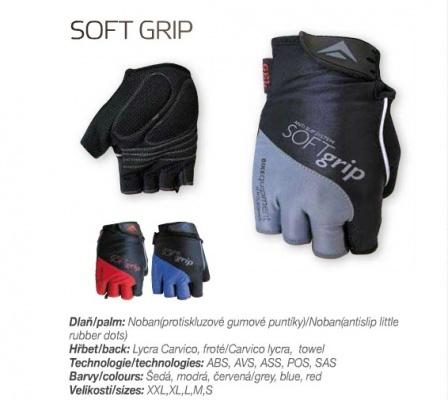 Перчатки Polednik SOFT GRIP NEW, S