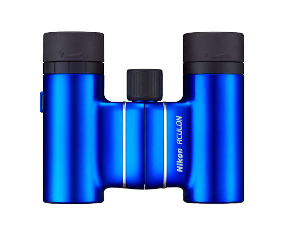 компактный Nikon T01 8x21 синего цвета