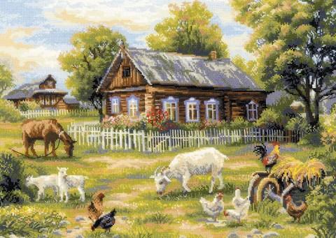 Деревенский полдень