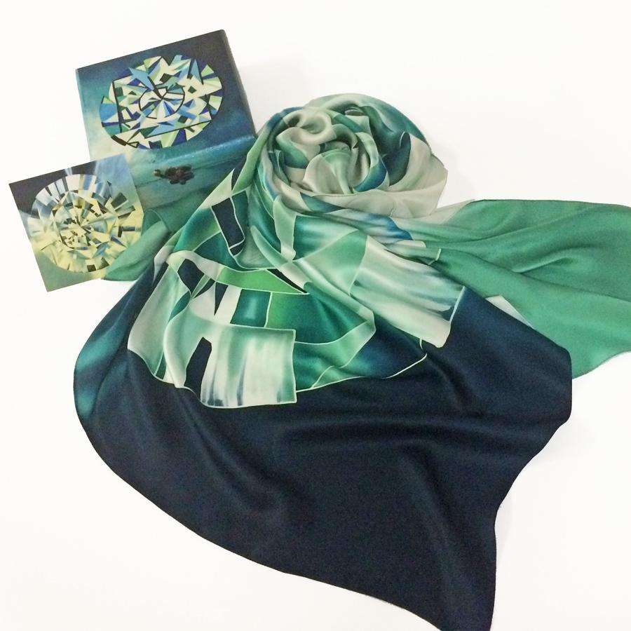 Шёлковый платок