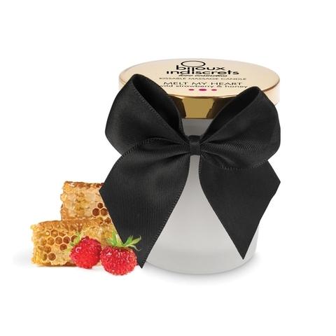 Bijoux Indiscrets Массажное масло (свеча) MELT MY HEART - Strawberry, 70 ml