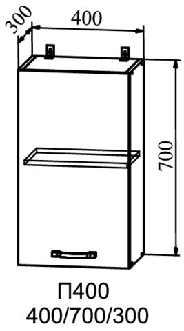 Кухня Гранд шкаф верхний 400