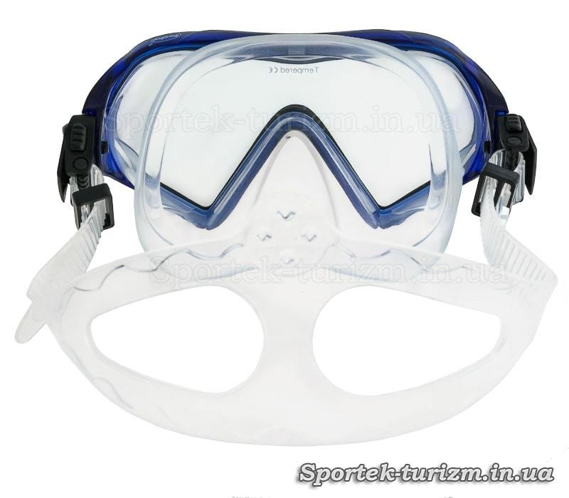 Вигляд ззаду маски для дайвінгу Fashy Explorer Mask (8850)