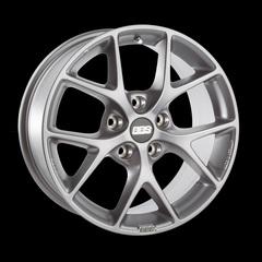 Диск колесный BBS SR 7.5x17 5x114.3 ET42 CB82.0 brilliant silver