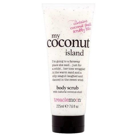 Treaclemoon Скраб для тела Кокосовый Рай My coconut island body scrub, 225 ml LD1F1013