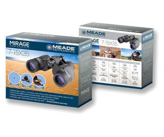 Бинокль Meade Mirage 7–15x35 - фото 4