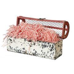 Наполнитель для коробок Бумажный Розовый, 100 г, 2 мм