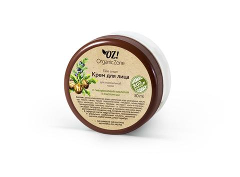OZ! Крем для лица для нормальной кожи с гиалуроновой и маслом ши (50 мл)