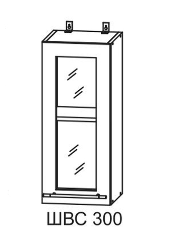 Кухня Империя ПС 300 Шкаф верхний