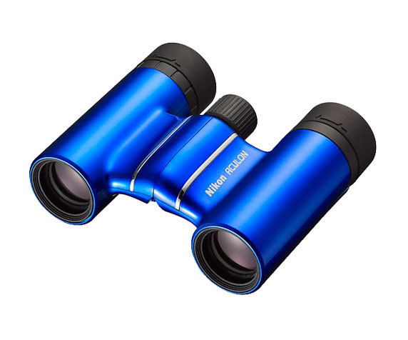 синий бинокль T01 8 21