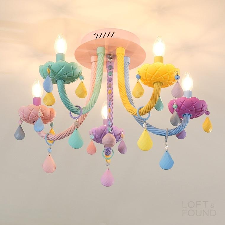 Потолочный светильник Rainbow Short