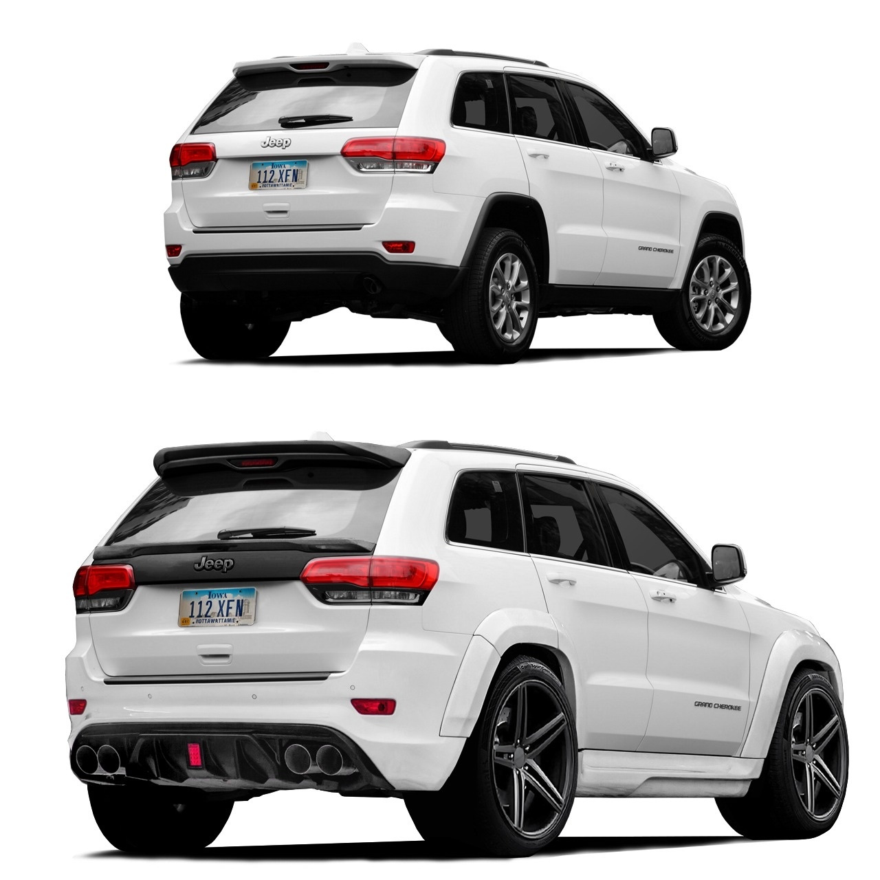 Обвес Renegade Design для Jeep Grand Cherokee WK2 2011/16 V2