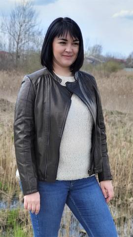 Куртка кожаная женская New Style